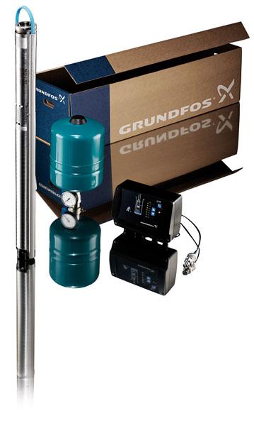 Sq Constant Pressure System on Water Pressure Sensor
