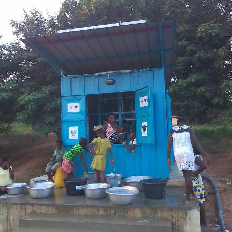 Ghana water pumps