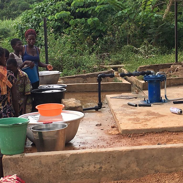 Solar pumps in Africa